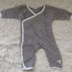 Quilted Organic Cotton Romper